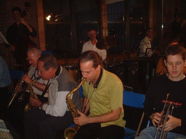 Art Lillard Heavenly Band. Douglas Street Collective Brooklyn NY, 2002. Peter Yellin, Dennis Mitcheltree, Art Lillard, Erik Jekabson. Brooklyn Conservatory of Music.