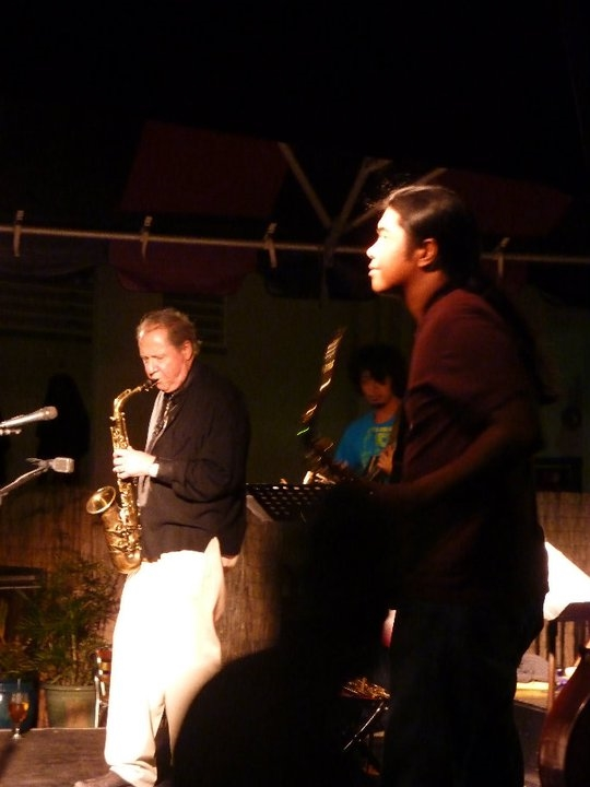 Pete Yellin, Reggie Padilla, Honolulu, Hawaii. March, 2011