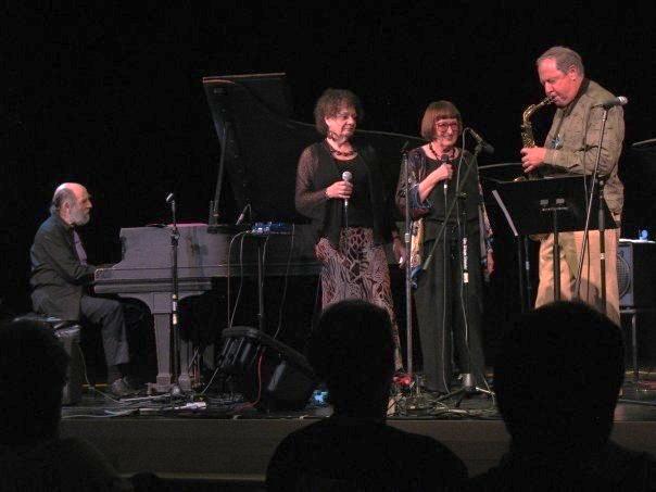 Vermont Jazz Center August, 2009. Faculty Concert. Harvey Diamond, Jay Clayton, Sheila Jordan, Pete Yellin