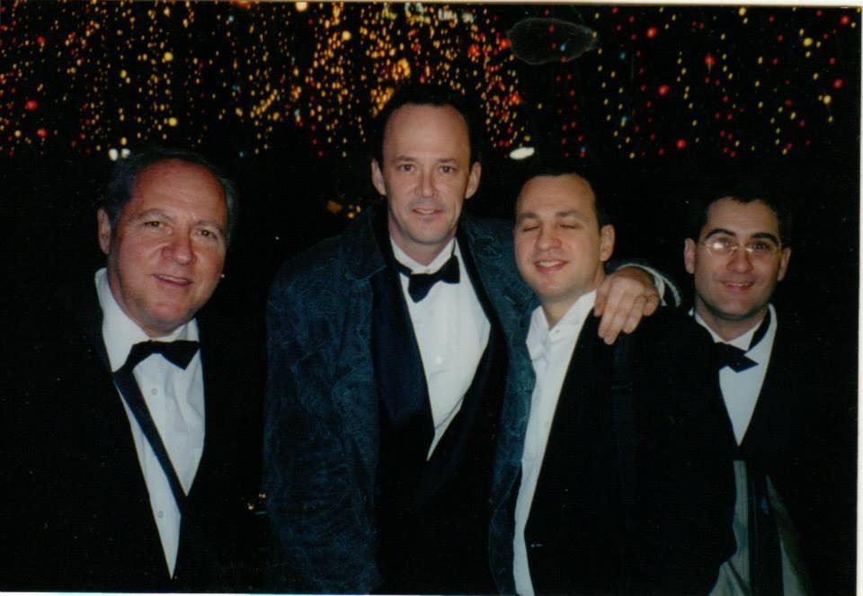 Athens, Greece with Rudy Calzado's Latin Jazz big band. Photo: Pete Yellin, David Bixler,  Peter Brainin, Peck Allmond