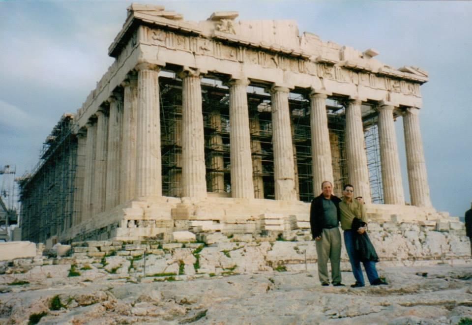 Athens, Greece with Rudy Calzado's Latin Jazz big band. Photo: Pete Yellin, Peck Allmond
