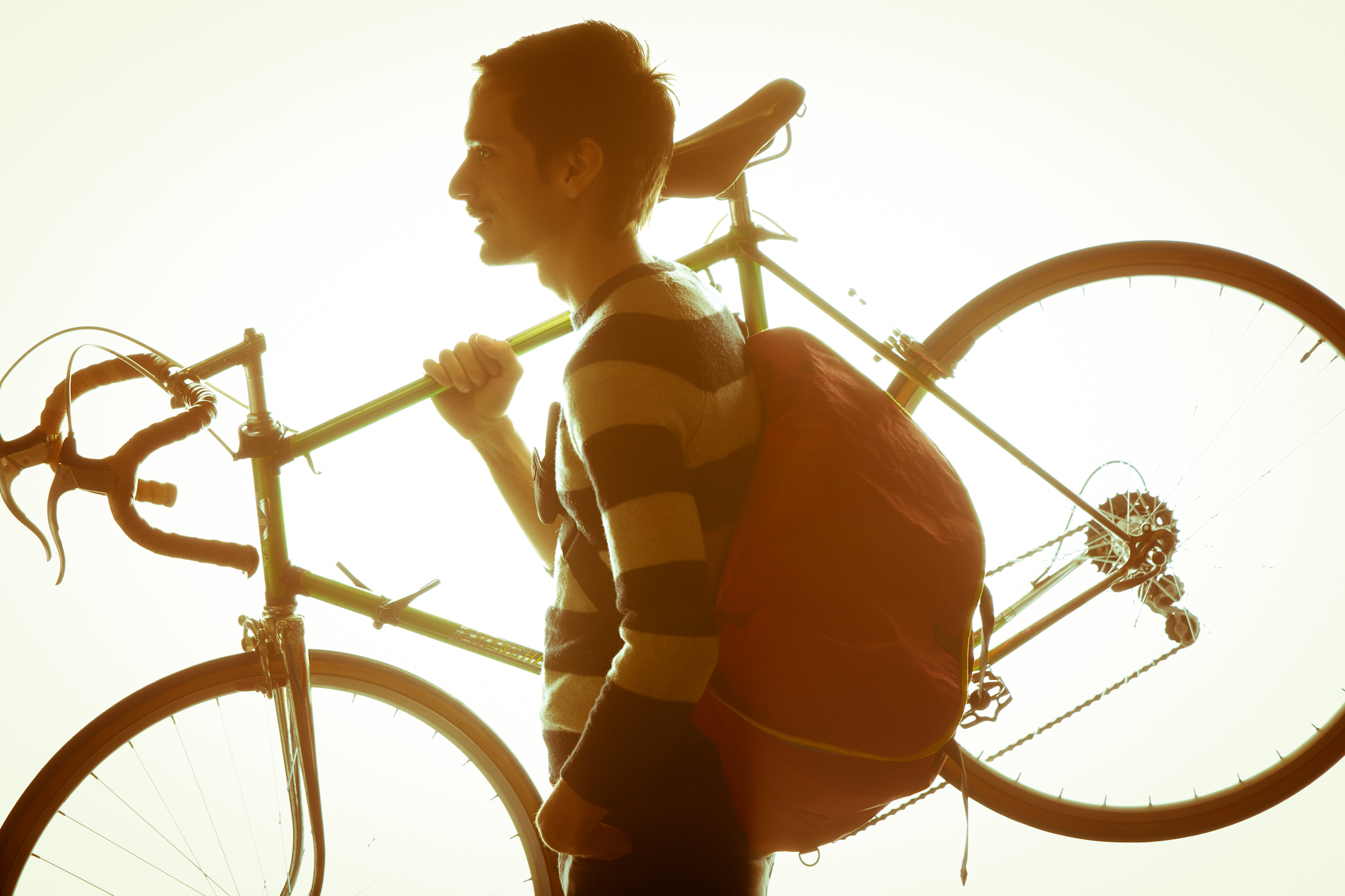 Rickshaw makes bike commuting a breeze.