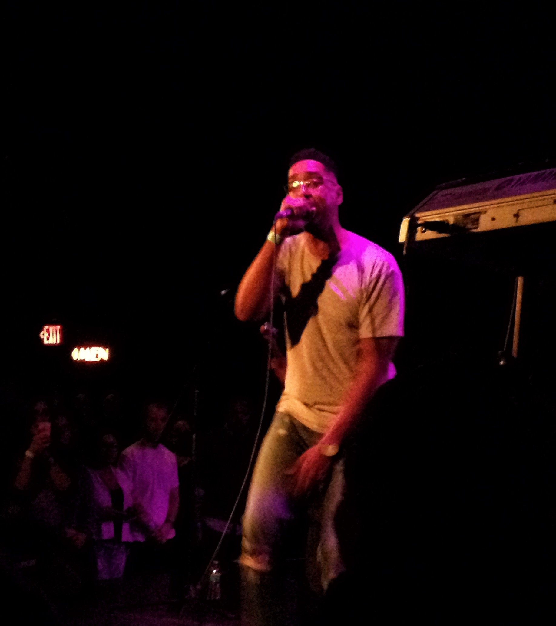 Oddisee at The Roxy on Monday night.
