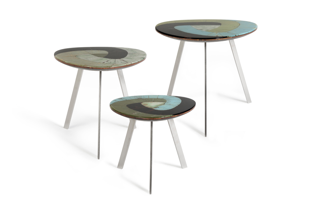 Set of three Nest Tables ESCHER