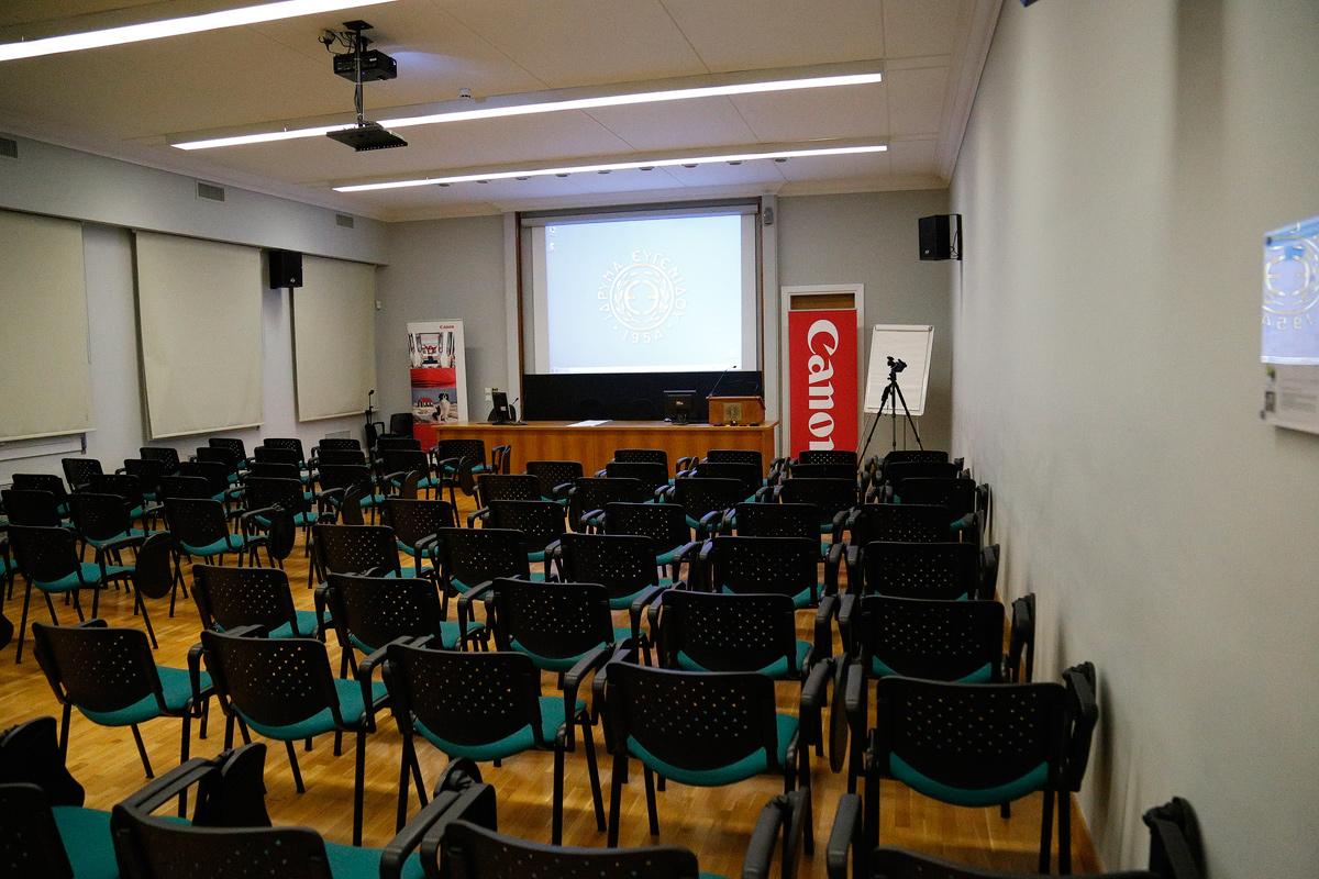 Η αίθουσα της παρουσίασης