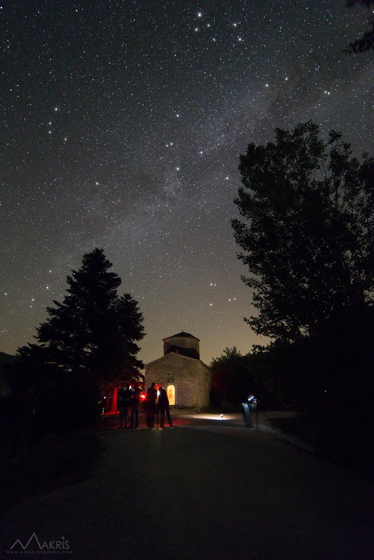 Και φυσικά αστροφωτογραφίσαμε τοπία!