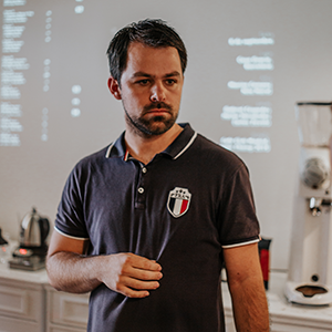 Martínez Gómez  Extremadura AeroPress Champion 2018
