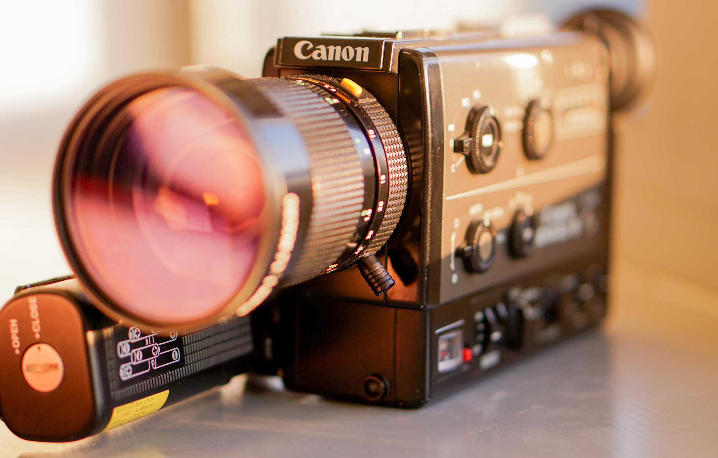 Canon Super 8 cine film camera