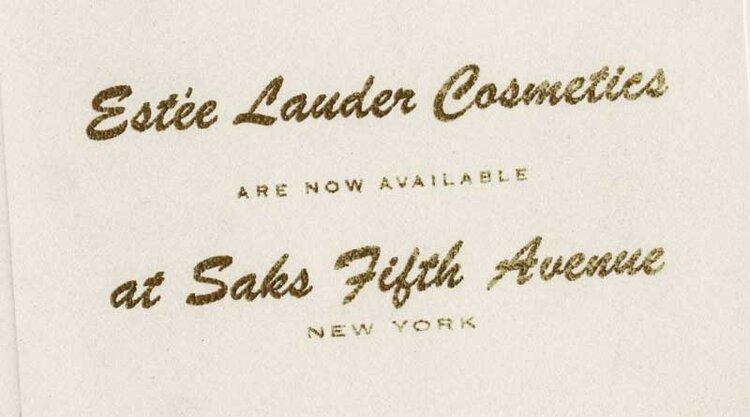 Estée Lauder / Saks Fifth Avenue