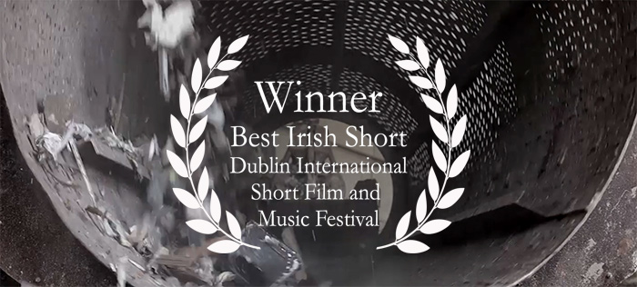 Virtus, a short film documentary on creativity, wins Best Irish Short at Dublin International Short Film and Music Festival. Directed by Declan O'Mahony.