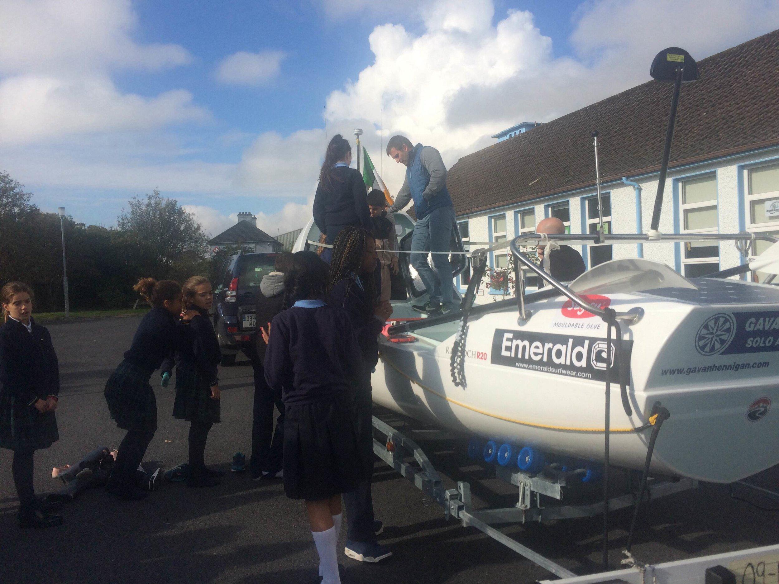 4:The kids exploring Doireann
