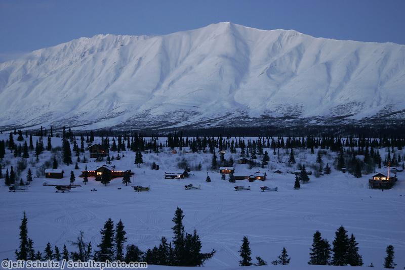 Rainy Pass Lodge, Mile 156 on the Iditarod Trail