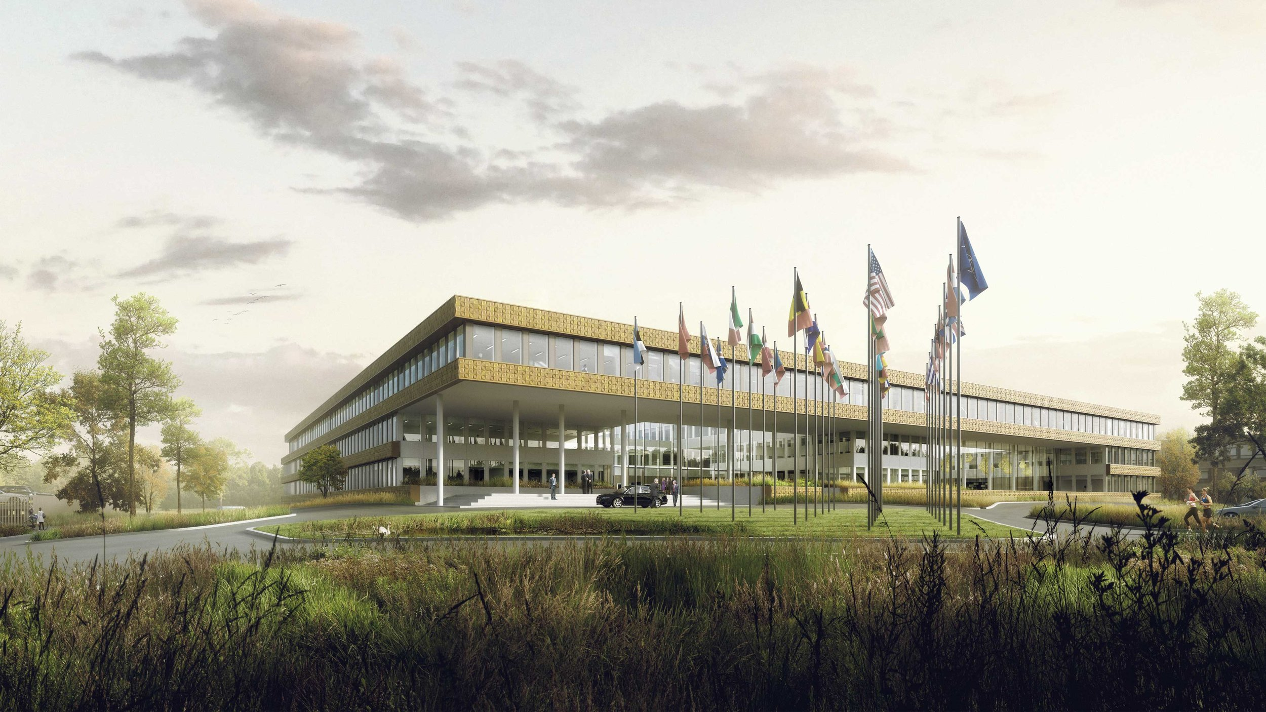 Coming soon: NATO Building