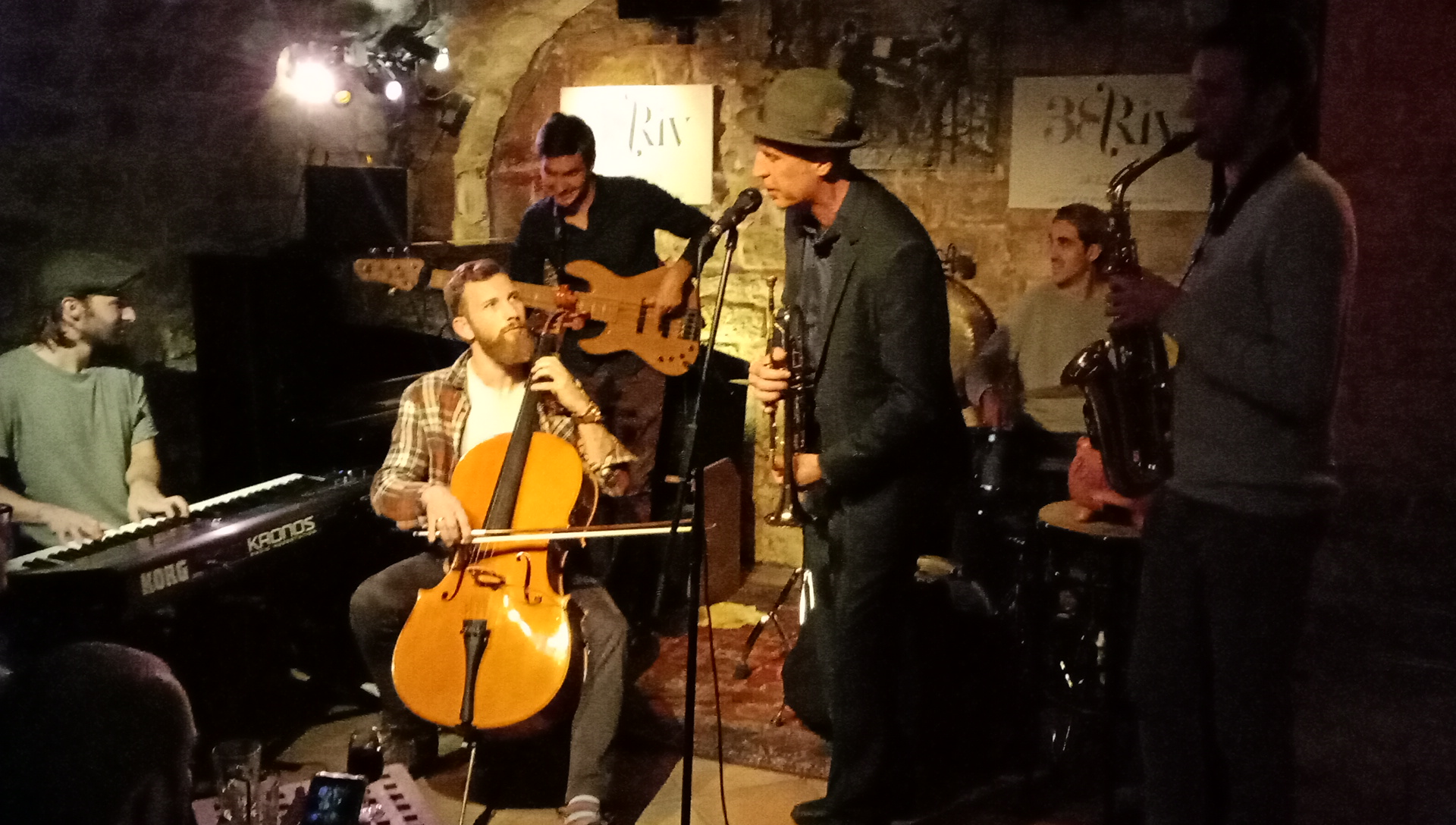 Playing Money Killed Songs with some local Paris jazz musos