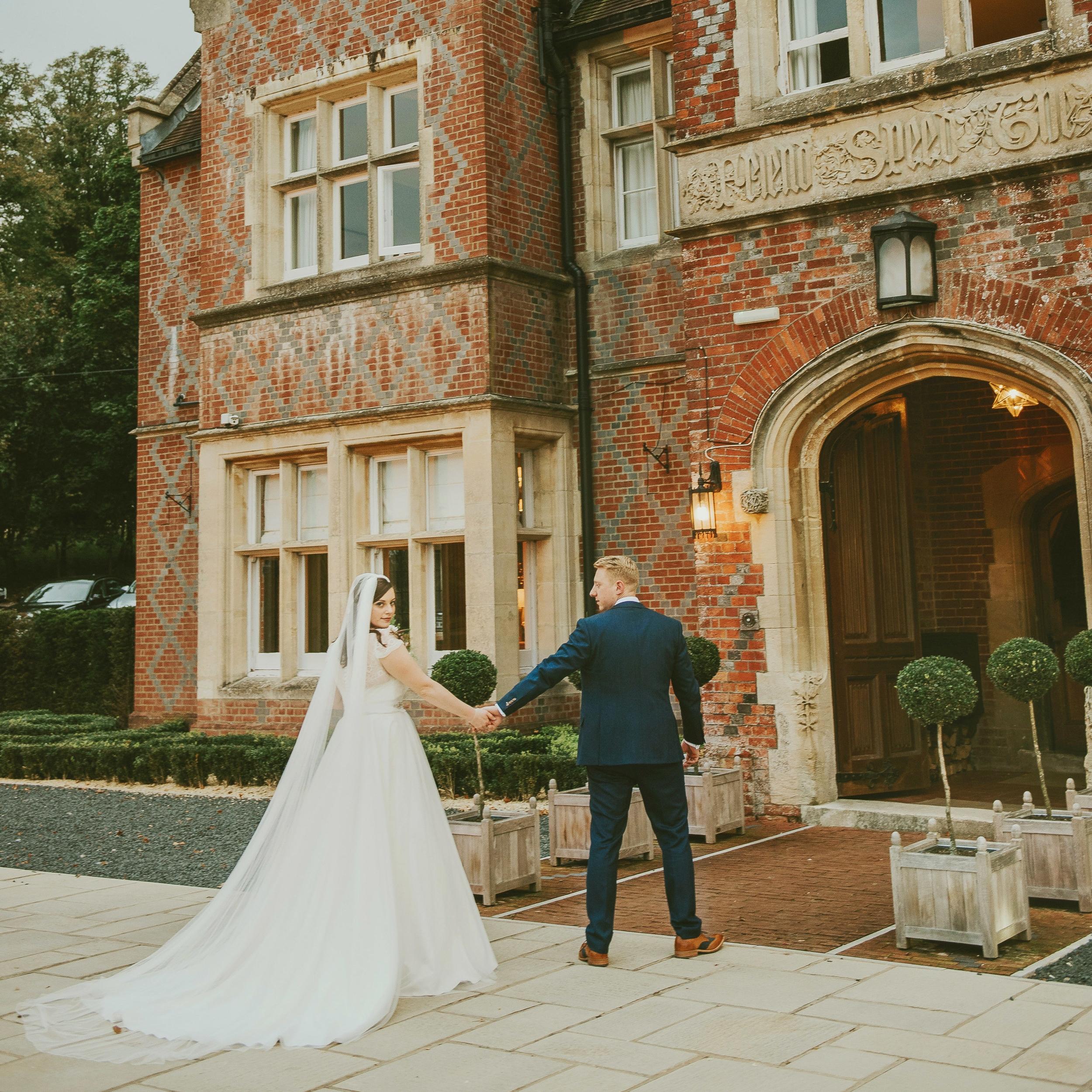 Burley Manor Wedding Photographer