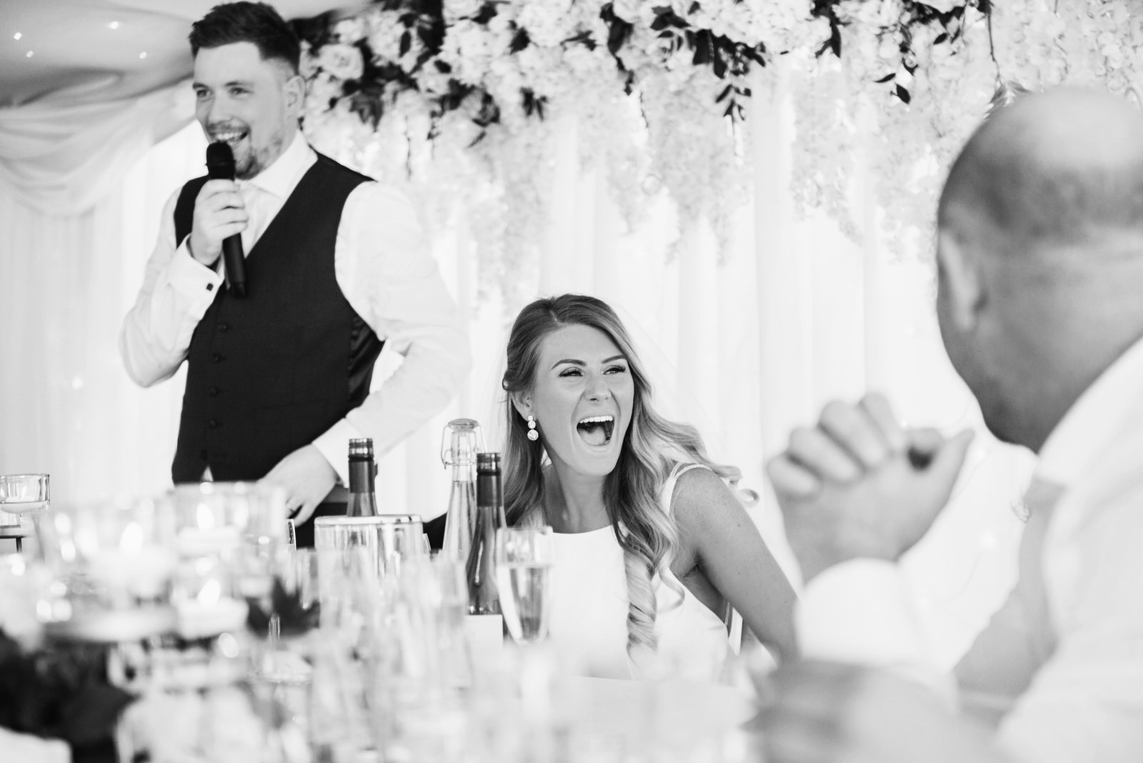 Fun Wedding Photography Parley Manor