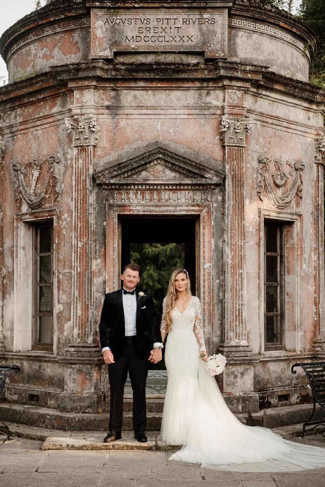 Wedding at Larmer Tree Gardens