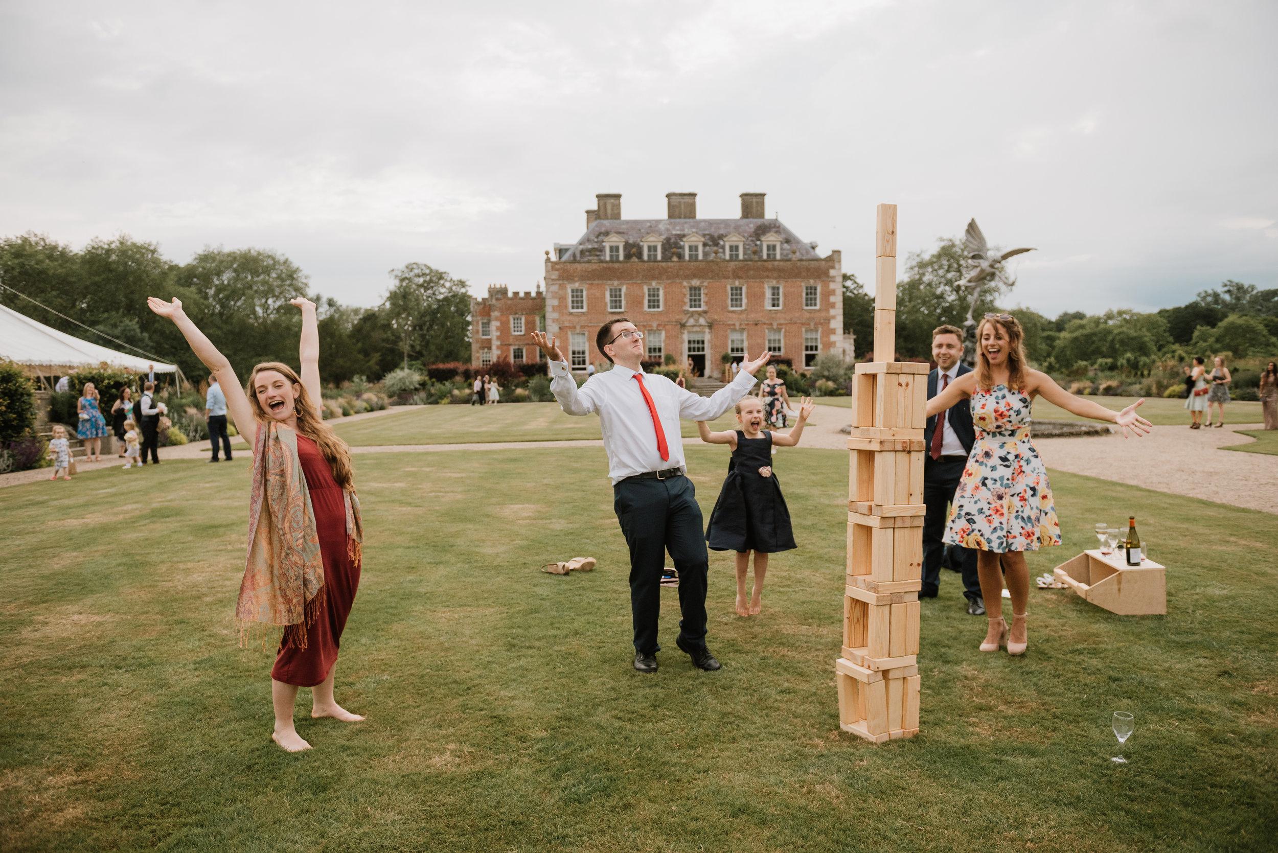 Fun wedding photographer Dorset
