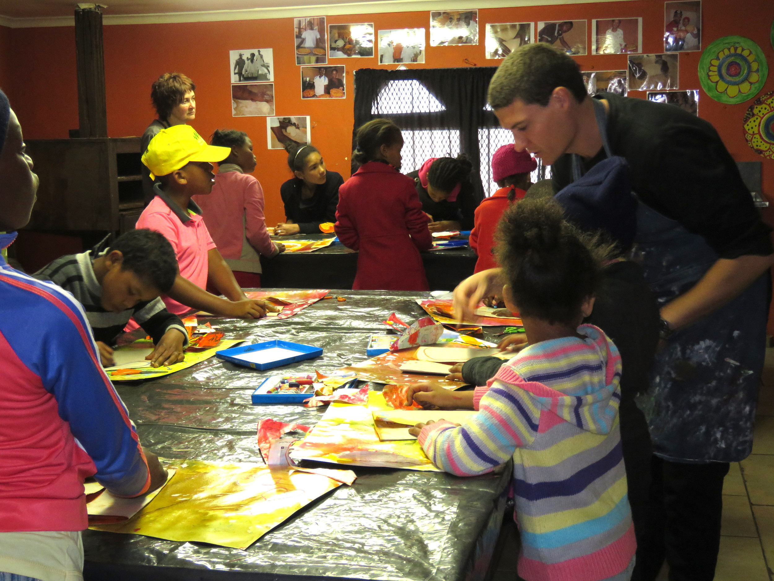 UNISA , ARH and TAC children's art partnership project in Delft