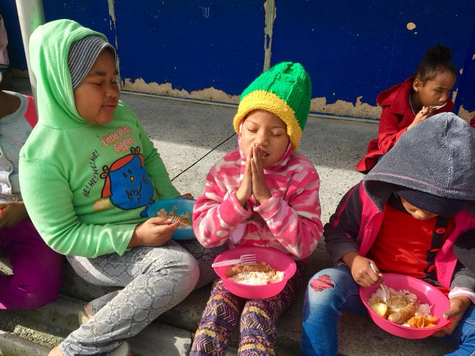 Art_Children eating and praying.jpg