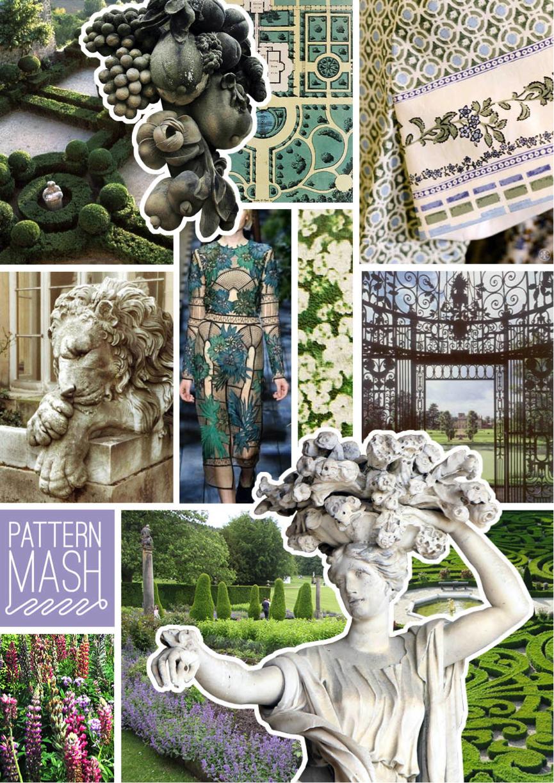 Patternmash Stately Garden