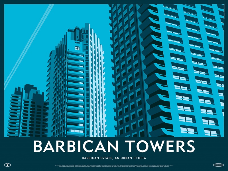 Barbican Towers Print_low