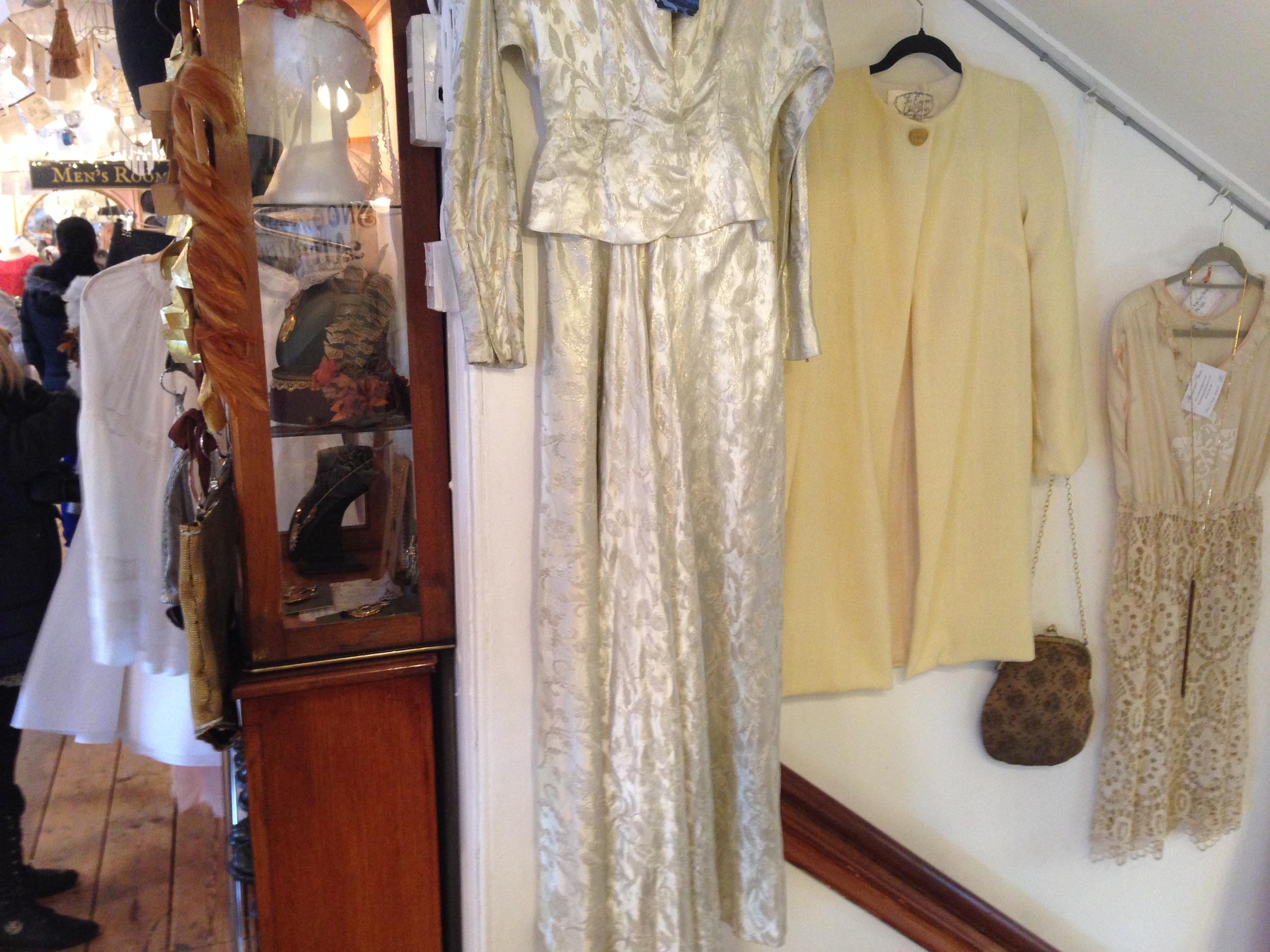 Emperor's Lemon Coat on the stairwell