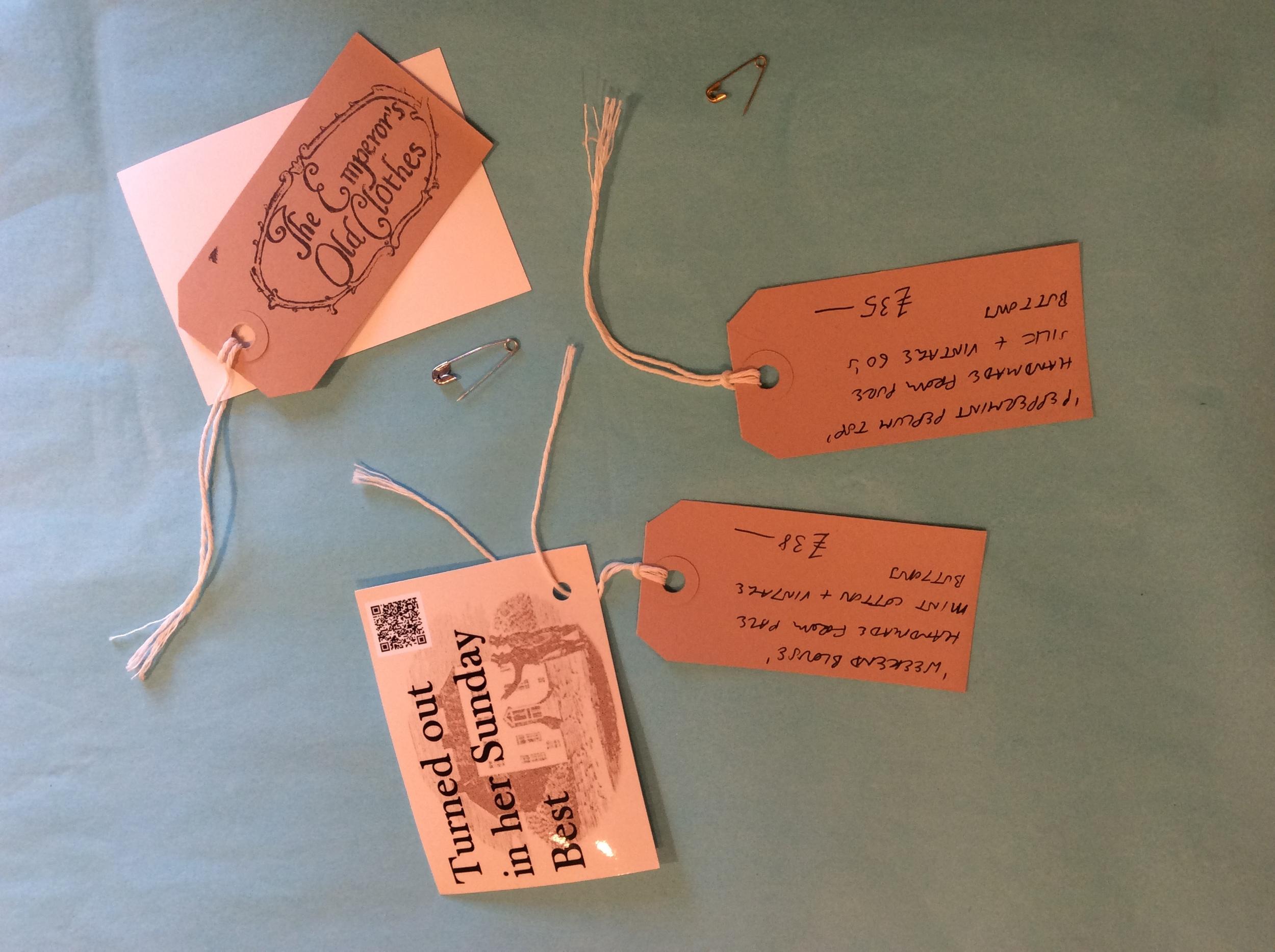 Sorting labels at Snooper's Attic