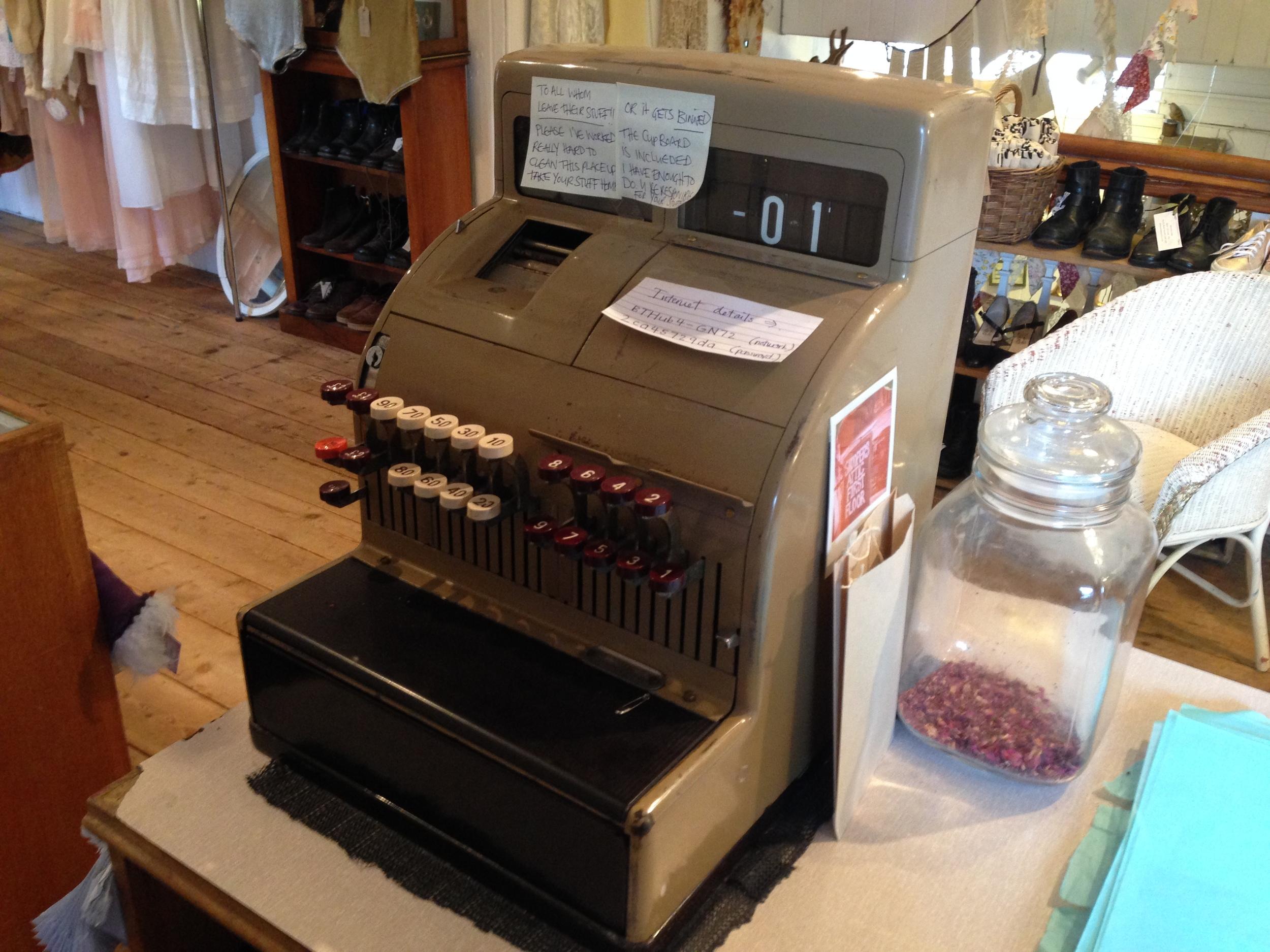 Snooper's Attic cash register
