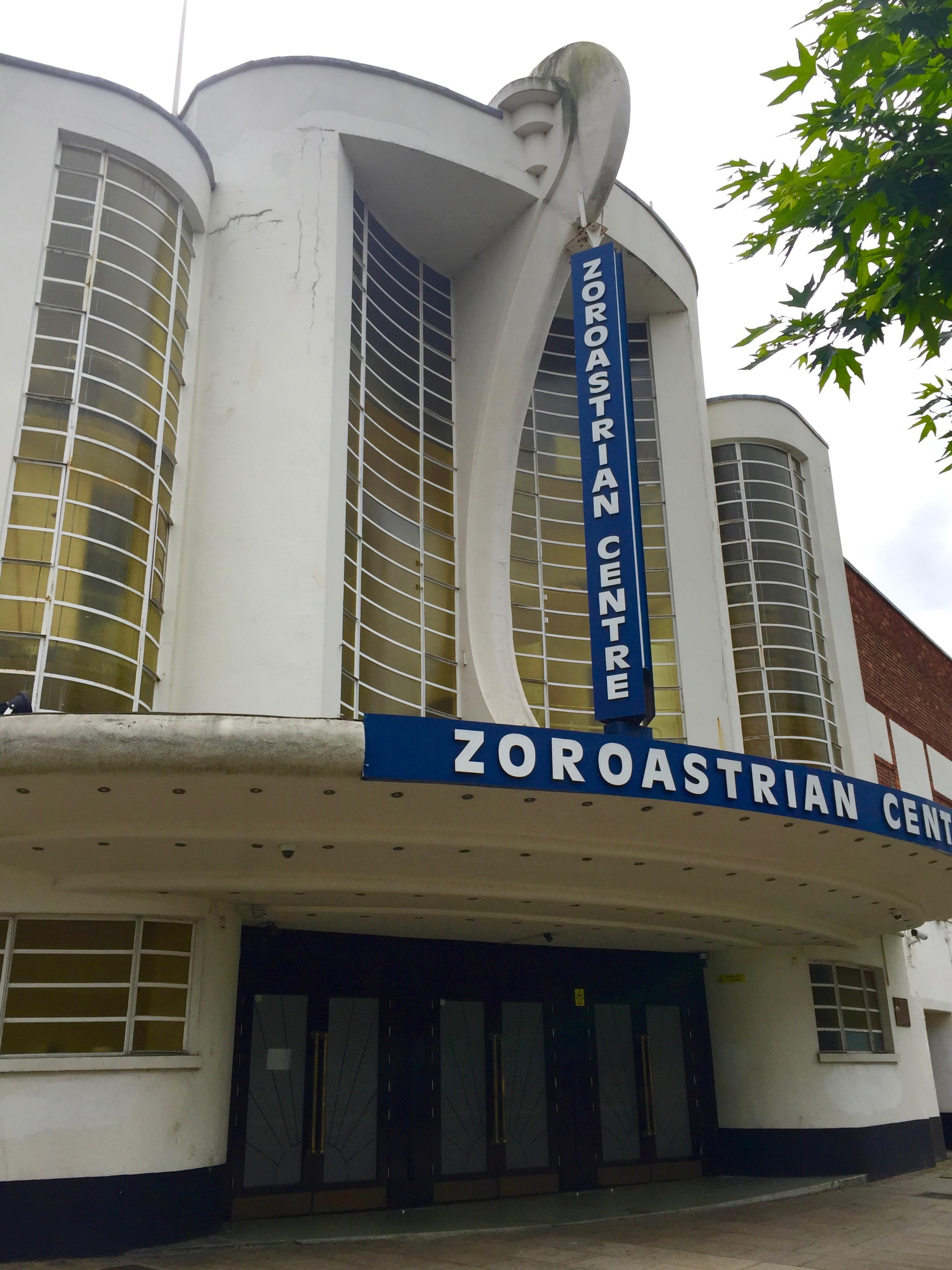 The Zoroastrian Centre at Rayners Lane.