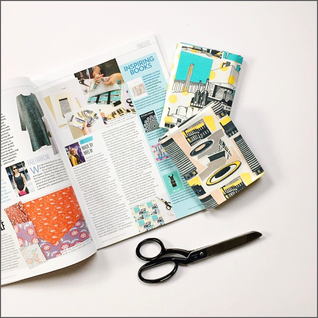 Feature in  Simply Sewing Magazine  - out now!