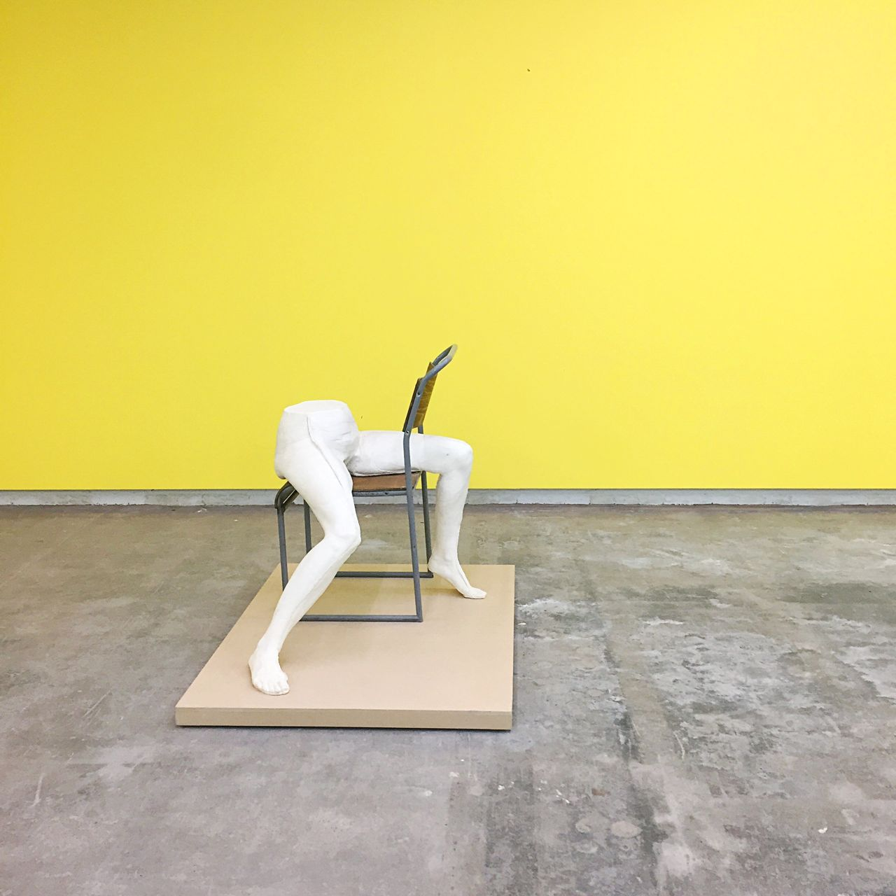 Sarah Lucas at the Humber Street Gallery