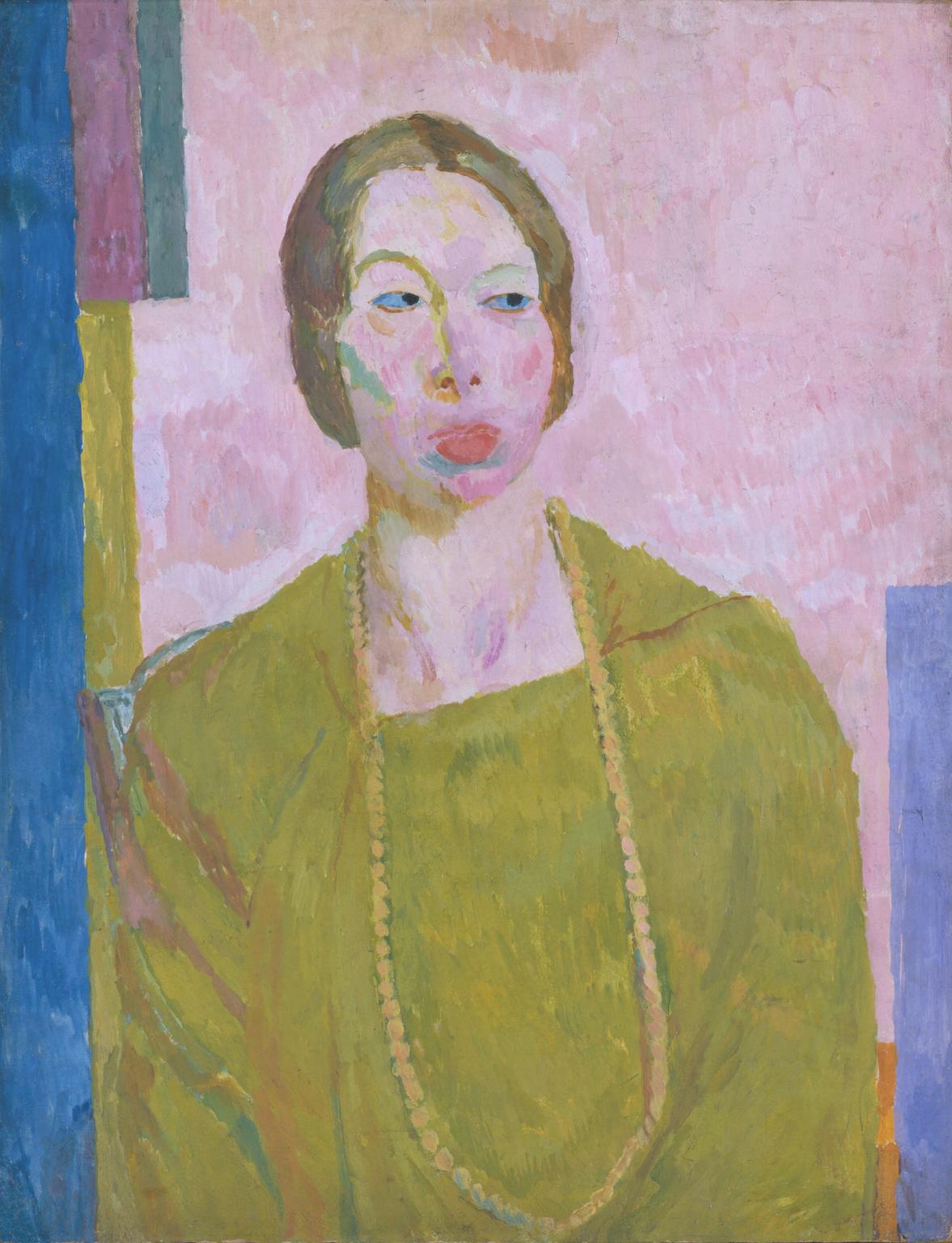 Vanessa Bell – Mrs St John Hutchinson 1915 - © Estate of Vanessa Bell, courtesy Henrietta Garnett, acquired 1973 Tate Collection, on loan to Dulwich Picture Gallery