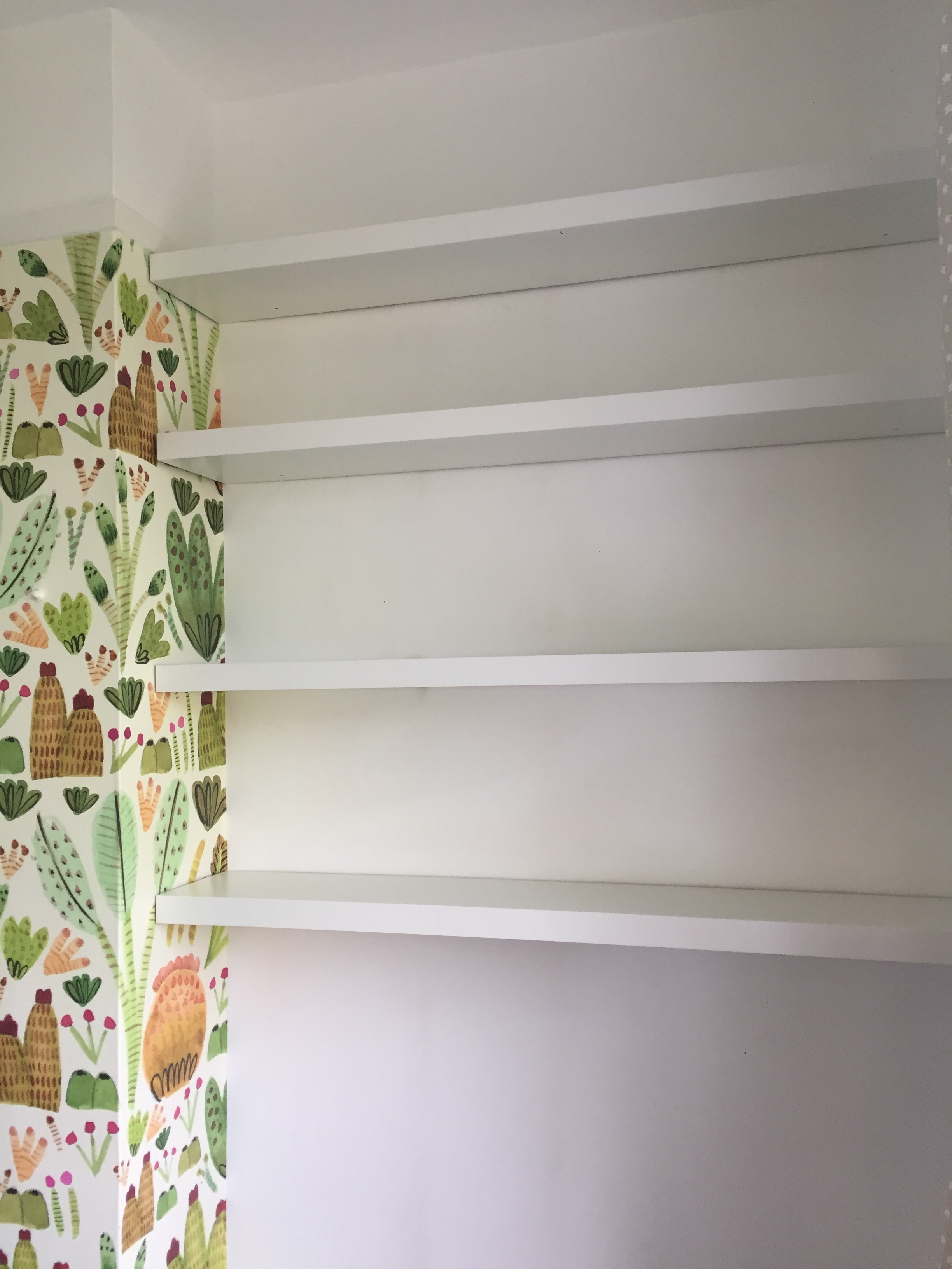 Lack shelves  from IKEA