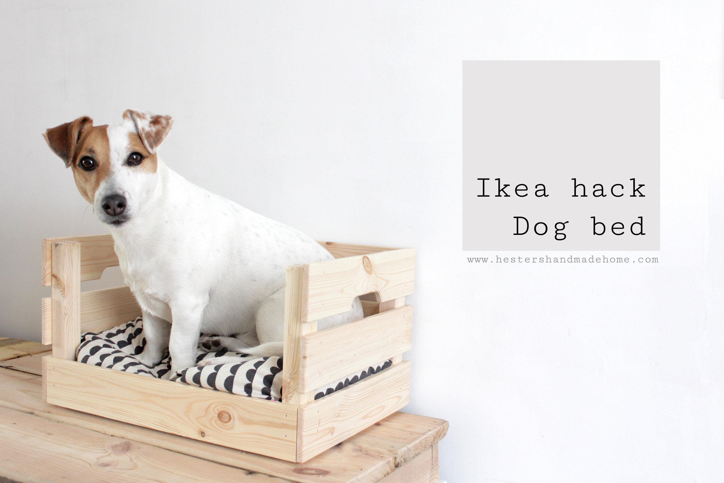 Ikea dogbed hesters handmade home.jpg