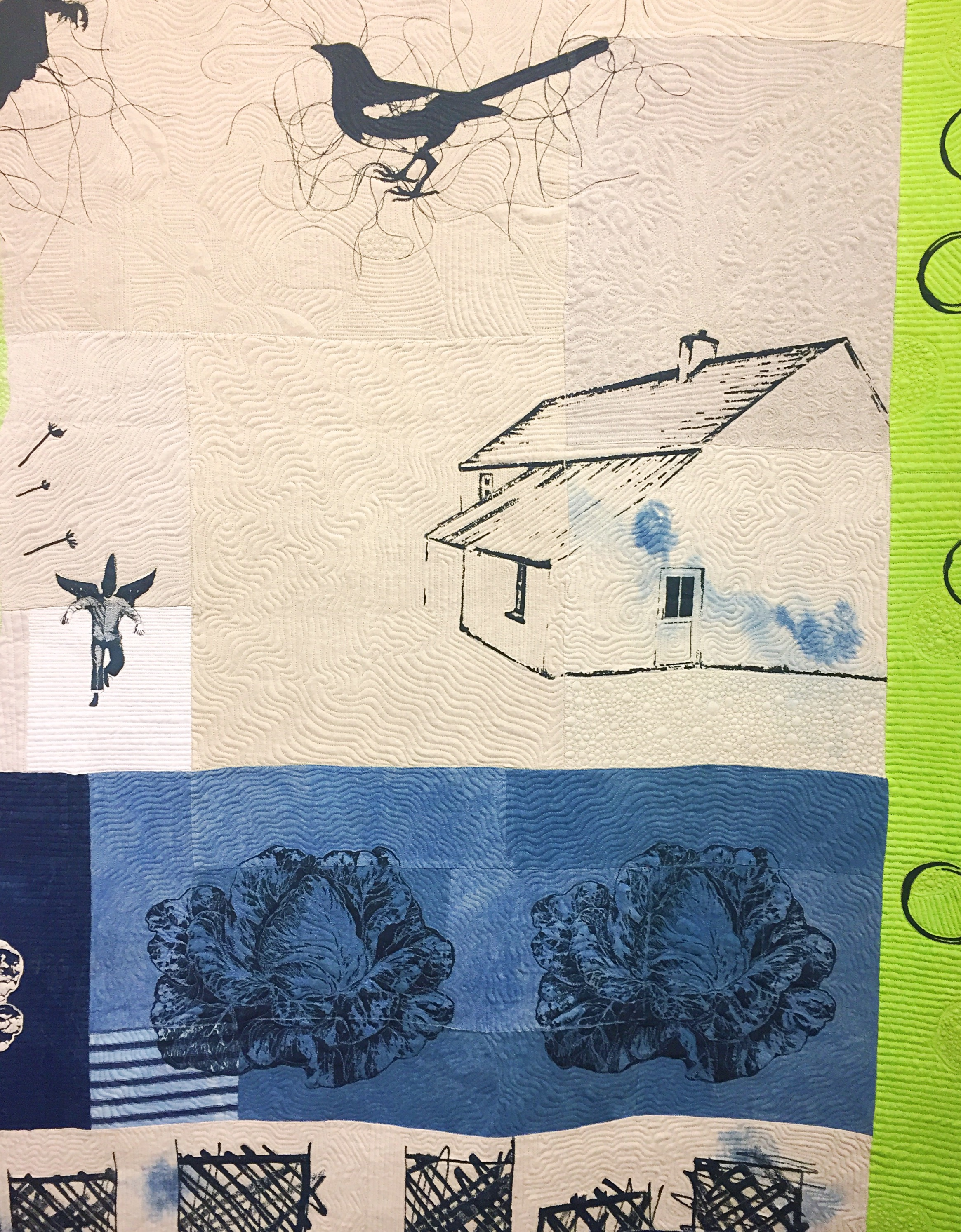 Quilt by Mary Palmer and Anne Kiely