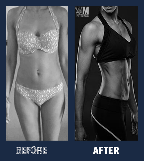 Skinny fit to Fitness Model - When Raj joined White Method Fitness, she was already training hard but not getting the results she wanted. She felt completely frustrated with her previous training. I helped her develop her lifting programme and customise her training schedule to fit her goals. Her body fat went from 20% down to 12% - and is still going. As a result of her dedication she was able to pursue her dream of  fitness modelling.