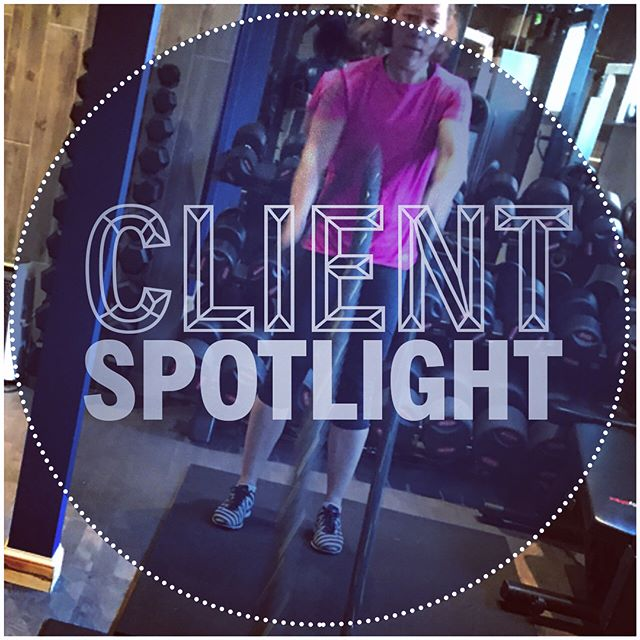 💪🔦Client Spotlight🔦💪 . The difference a time specific goal can have! . Myra has been team training with me for about four years now. Within six months she had met all her initial goals, through the years she has had a lot of obstacles in her way. But with continual use of short-term goals her strength, endurance and her body metrics have improved year in year out. . However, ten weeks ago she told me she wanted to get ready for a 7-day hike around the Canadian Rockies. ⛰⛰ . So basically take herself to a whole new level physically. Our aim for her training was to get her full body endurance to a level where she would be able to deal with the walk but also a rucksack. With that, we aimed to get her ability to recover as quickly as possible. . The last ten weeks she has done amazingly well. The @myzonemoves graph shown, was her last session. It was probably the most intense session I put her through. By no stretch of the imagination did she breeze through it. But looking at the graph the speed her heart rate drops is incredible. In under a minute 175bpm (just a few beats below her max) to under 100bpm. . Increased recovery ✅. . As a fringe benefit, she dropped her stomach down from 30 inches to 28.5 inches, waist from 34 to 32 inches and leg from 21.5 to 20.5 and lost 21mm of body fat from her four site pinch test. . Physically in better shape ✅. . Also an extra 30Kg onto Back Sqaut! . Ability to carry big loads on her back ✅. . And she is doing it all for charity: https://www.justgiving.com/fundraising/myra-houghton . Her last session.  3 sets: A1 Battle rope DH slams 20 A2 Air bike arms only 10 cal  A3  Battle rope DH slams 20 A4 10Kg MB Knee slams 15 A5 Battle rope DH slams 20 A6 16 Kg Kettlebell snatch 15 B1 Battle rope Alt arm slams 15 B2 16 Kg Kettlebell swings 20 B3 Battle rope Alt arm slams 15 B4 Squat Jumps 15 B5 Battle rope Alt arm slams 15 B6 DB Burpee Snatches 10 1 set finisher of: C1 10KG MB jump slams 20 C2  Air bike 12 cal  C3 10KG MB jump slams 15 C4 Air bike 10 cal  C5 10KG MB jump slams 10 C6 Air bike 8 cal . #bestforthebest #clientspotlight #amazingeffort #stronger #fitter #slimmer . #milngavie #bearsden #gym #transformation