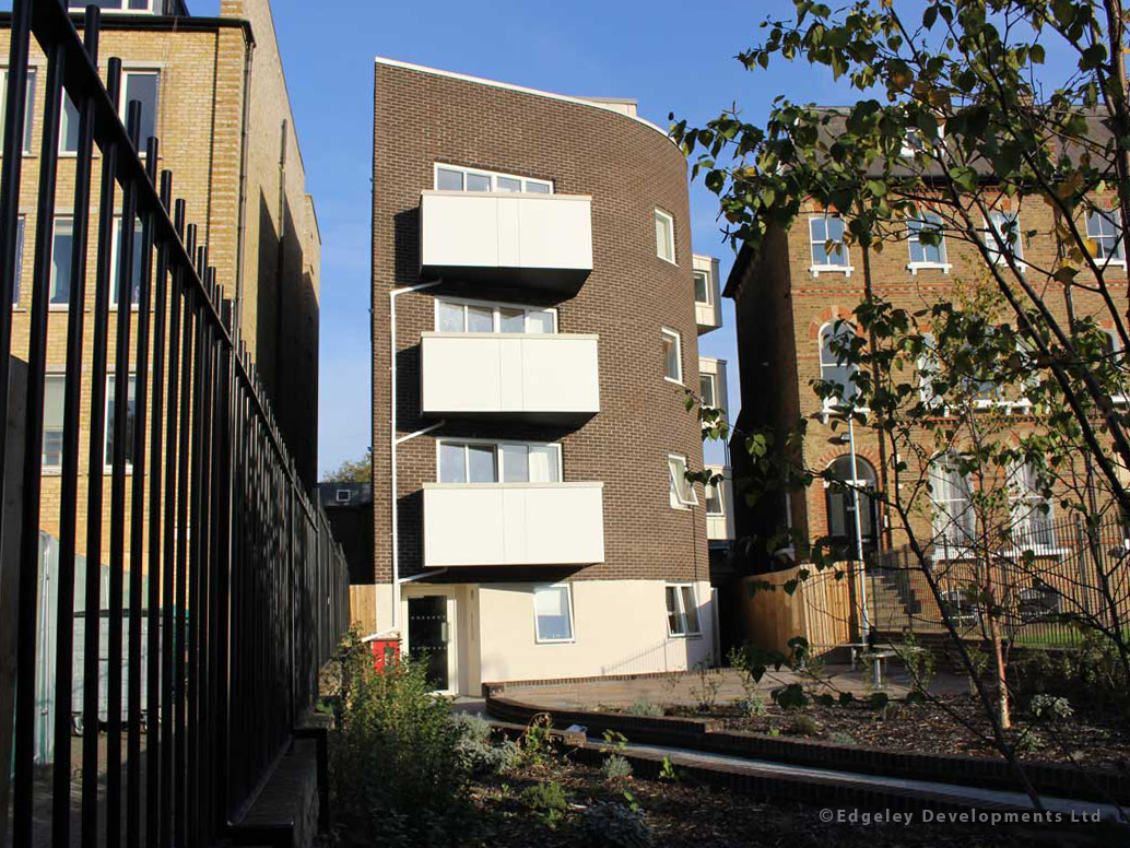 247 Brixton Road   Planning, construction, maintenance and landscaping of a new five storey building to provide 9 high specification apartments.