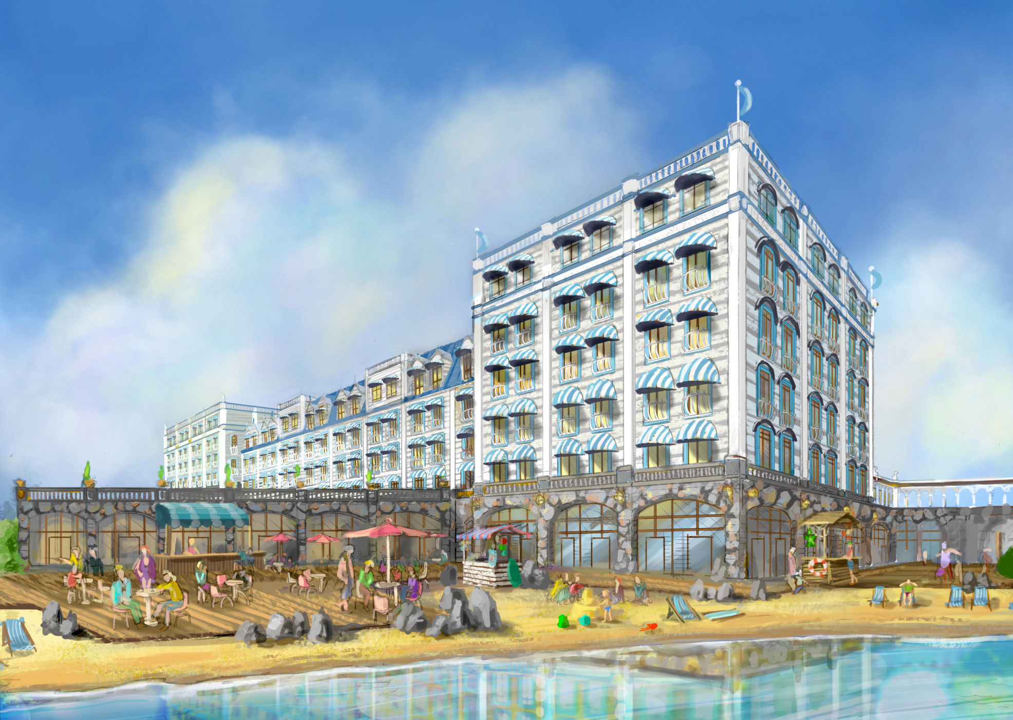 ADVENTURE WORLD AQUA HOTEL <strong>  This easy-going hotel continues the aquatic theme of the adjacent water park.</strong>
