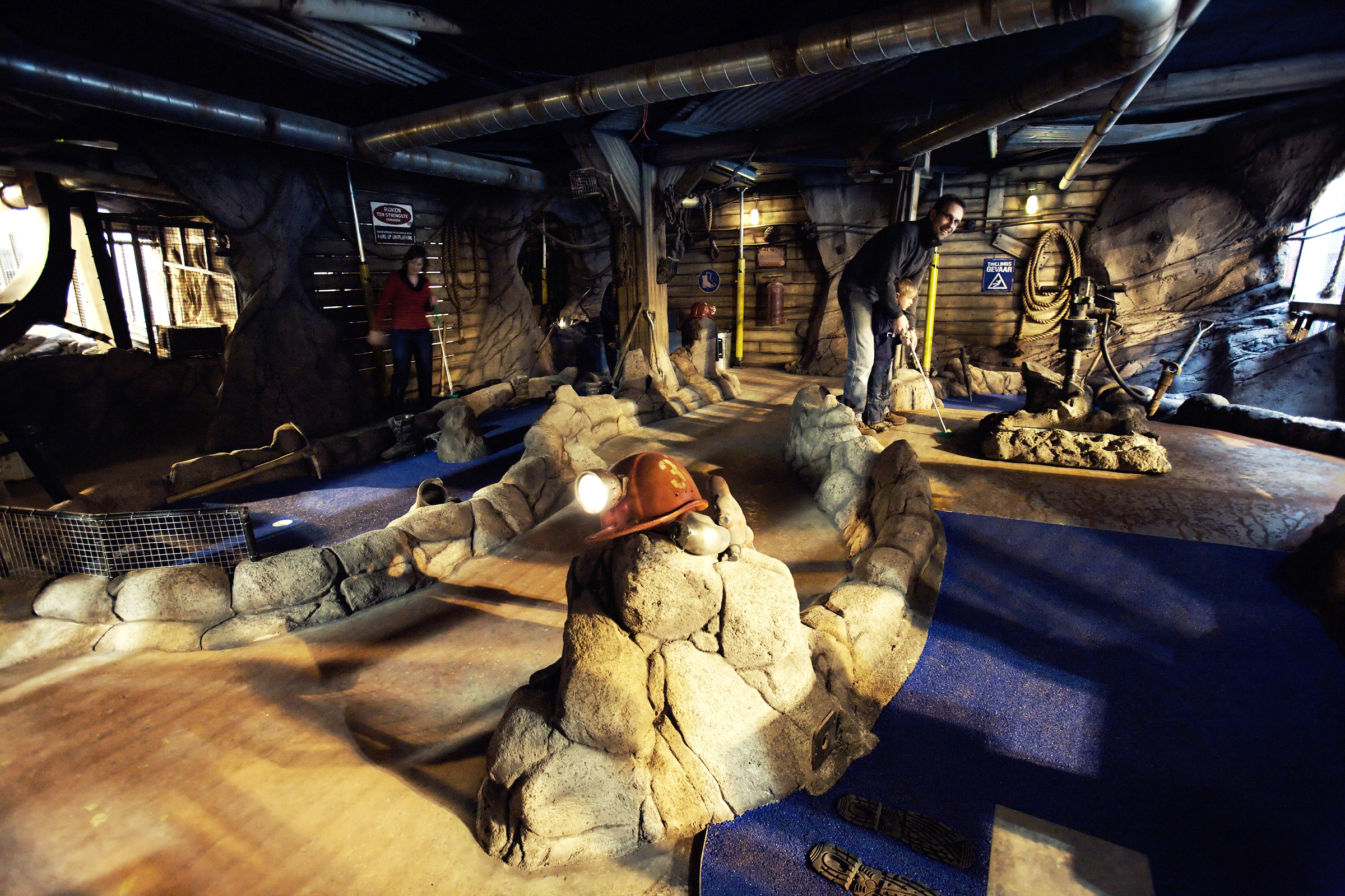 THE FORGOTTEN MINE <strong>| This award-winning mini golf attraction makes mining history come to life.</strong>