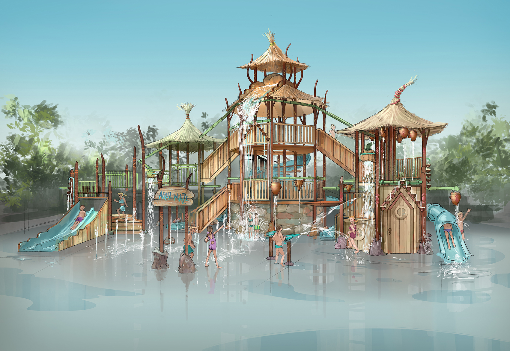 FAIRYTALE PLAYGROUND <strong>| Design for playground with supplier Van Egdom</strong>