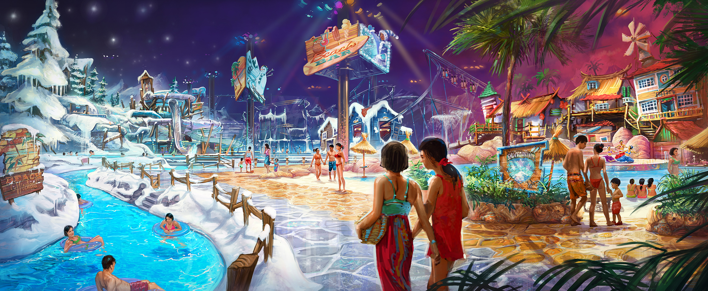 WANDA SEASONS PARK <strong>| An unexpected water park where the seasons clash!</strong>