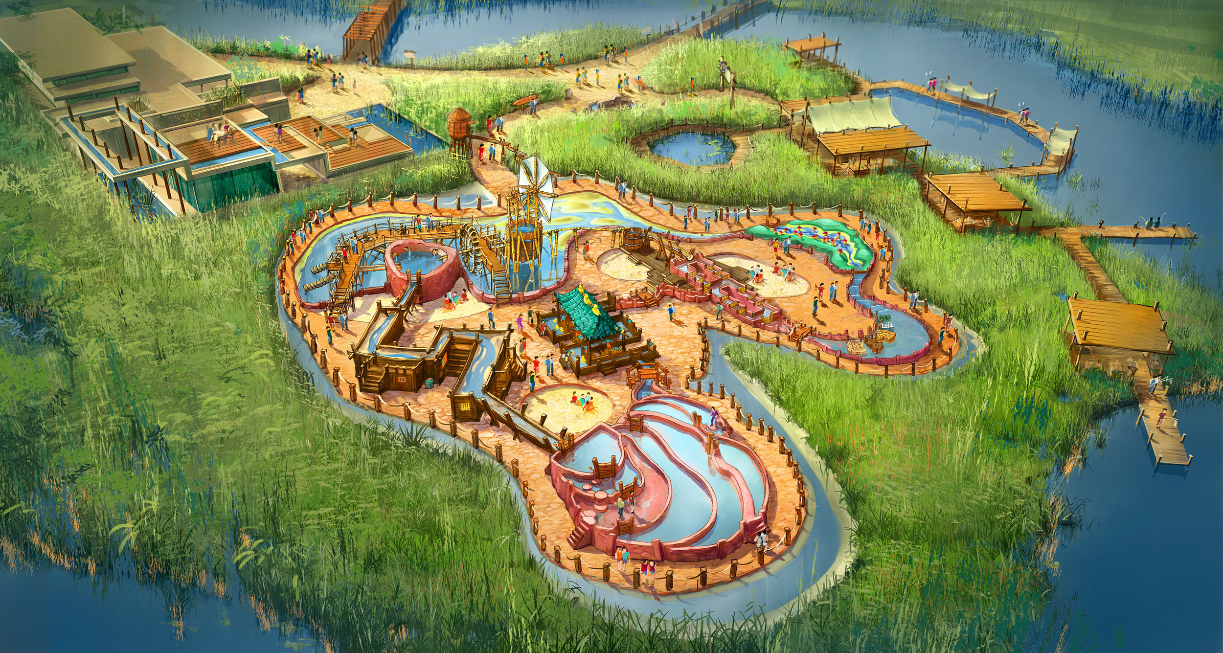 WATER PLAYGROUND HANGZHOU BAY <strong>| Edutainment playground for Hangzhou Bay Wetlands Park, China</strong>