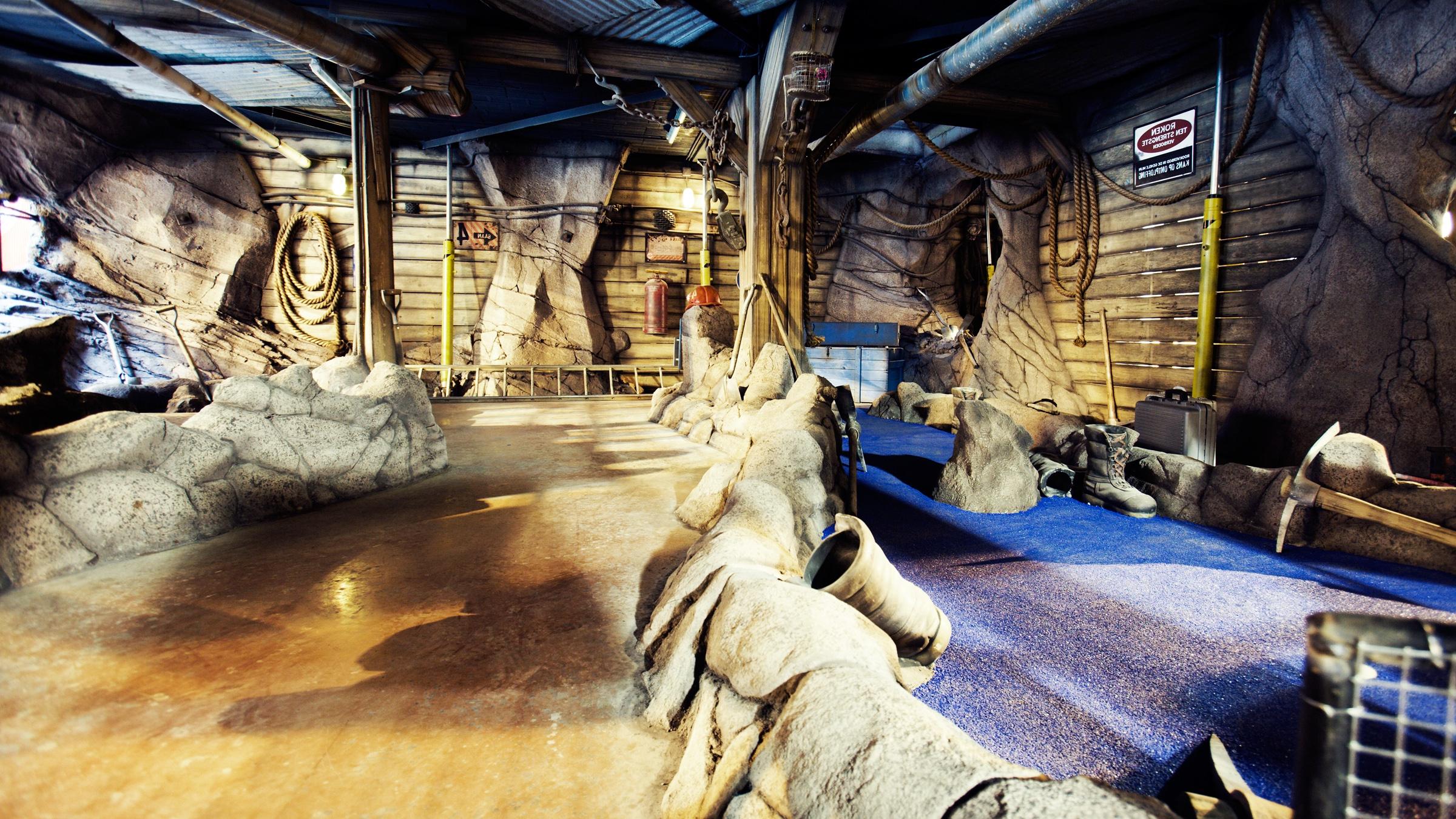 """THEA AWARD 2009<strong>THEA Award for """"The Forgotten Mine"""" Minigolf Attraction, Molenheide, Belgium</strong>"""