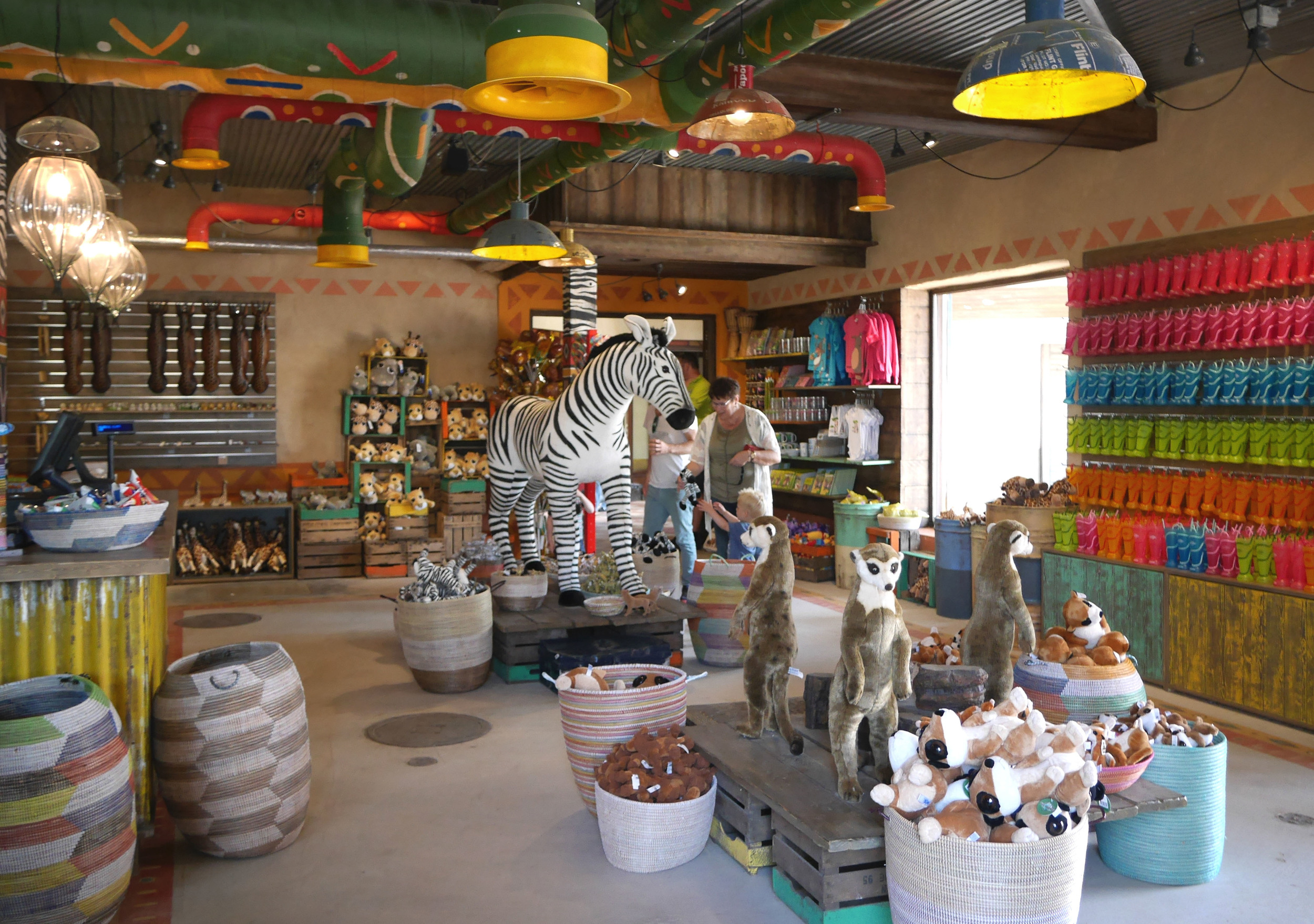 ASANTE GIFTS WILDLANDS <strong>| An authentic yet whimsical shop you might almost encounter in a real-life African village.</strong>