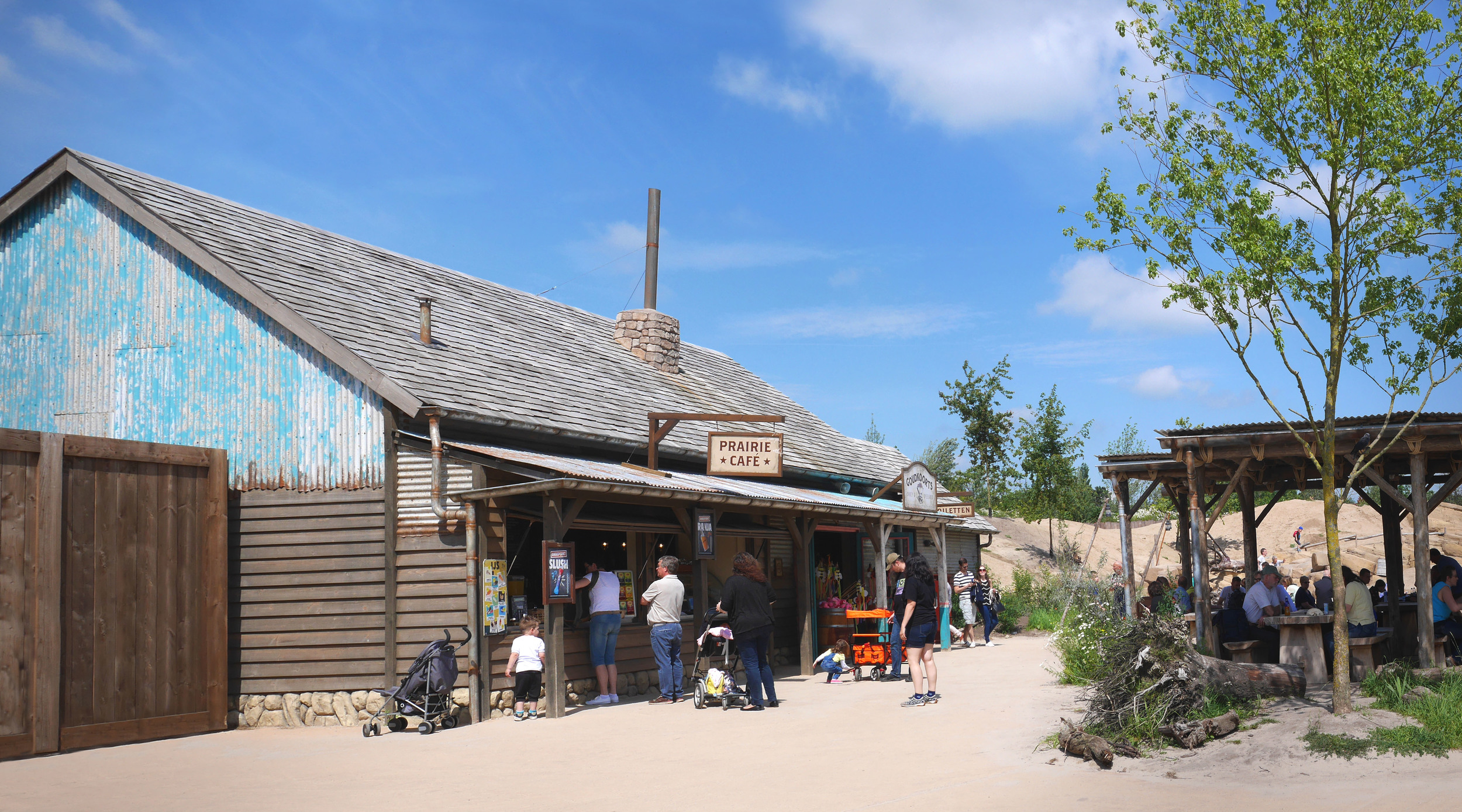 PRARIE CAFE WILDLANDS <strong>  A miner's last chance for a grub stop</strong>