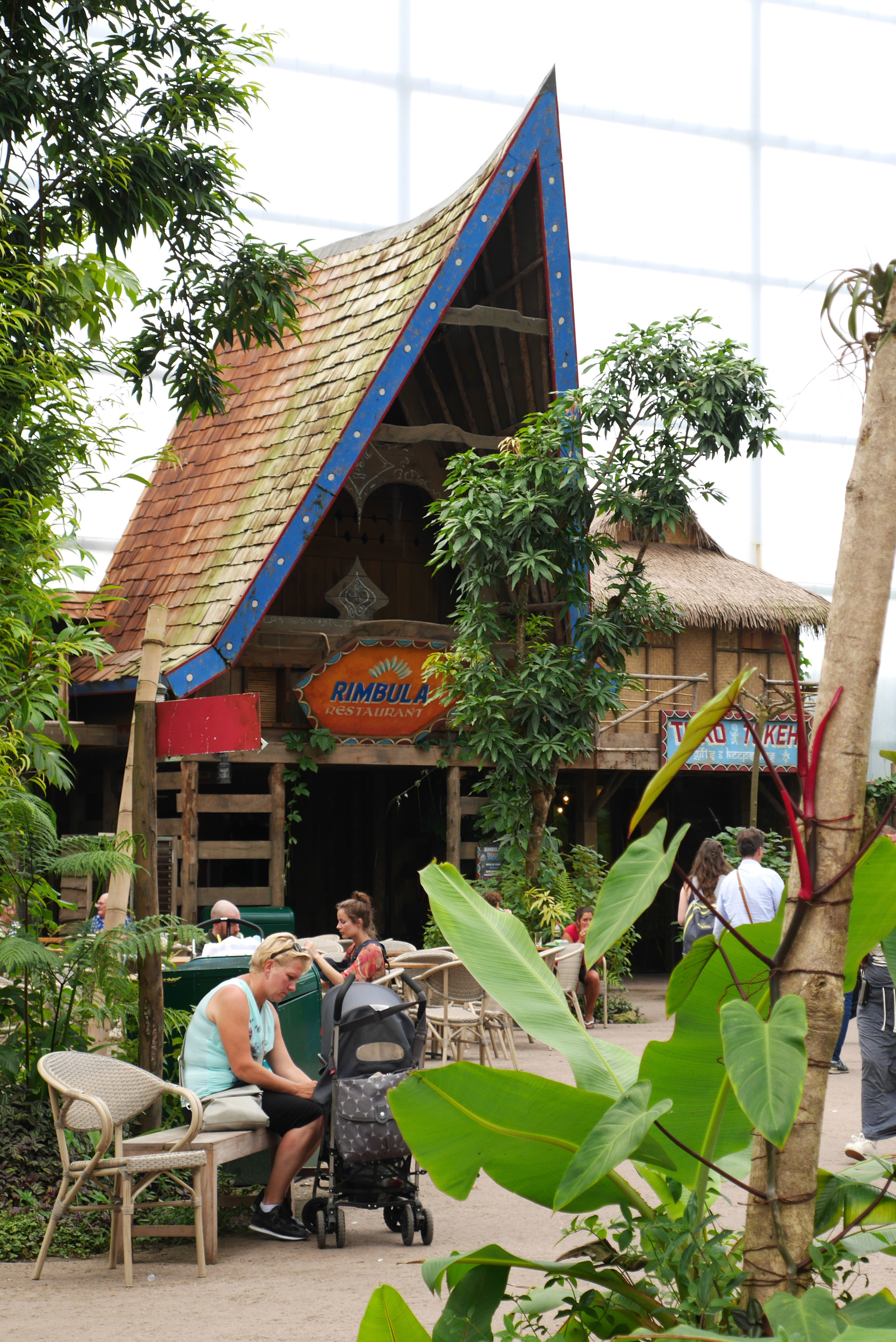 RIMBULA RESTAURANT WILDLANDS <strong>| A tropical asian food experience inside Europe's largest indoor rainforest</strong>