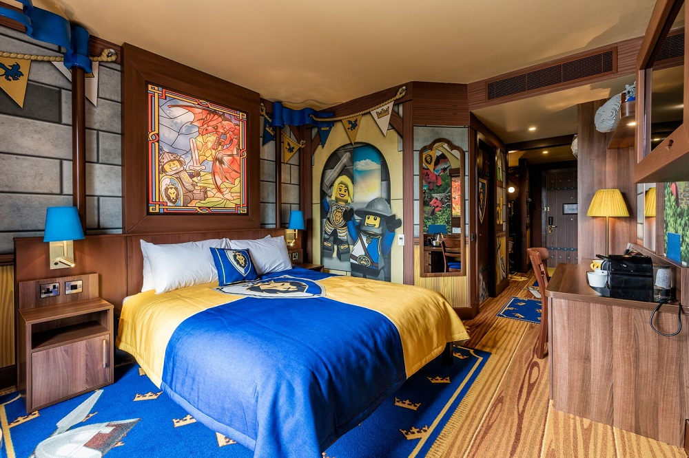 LEGOLAND WINDSOR CASTLE HOTEL <strong>| Dream on </strong>