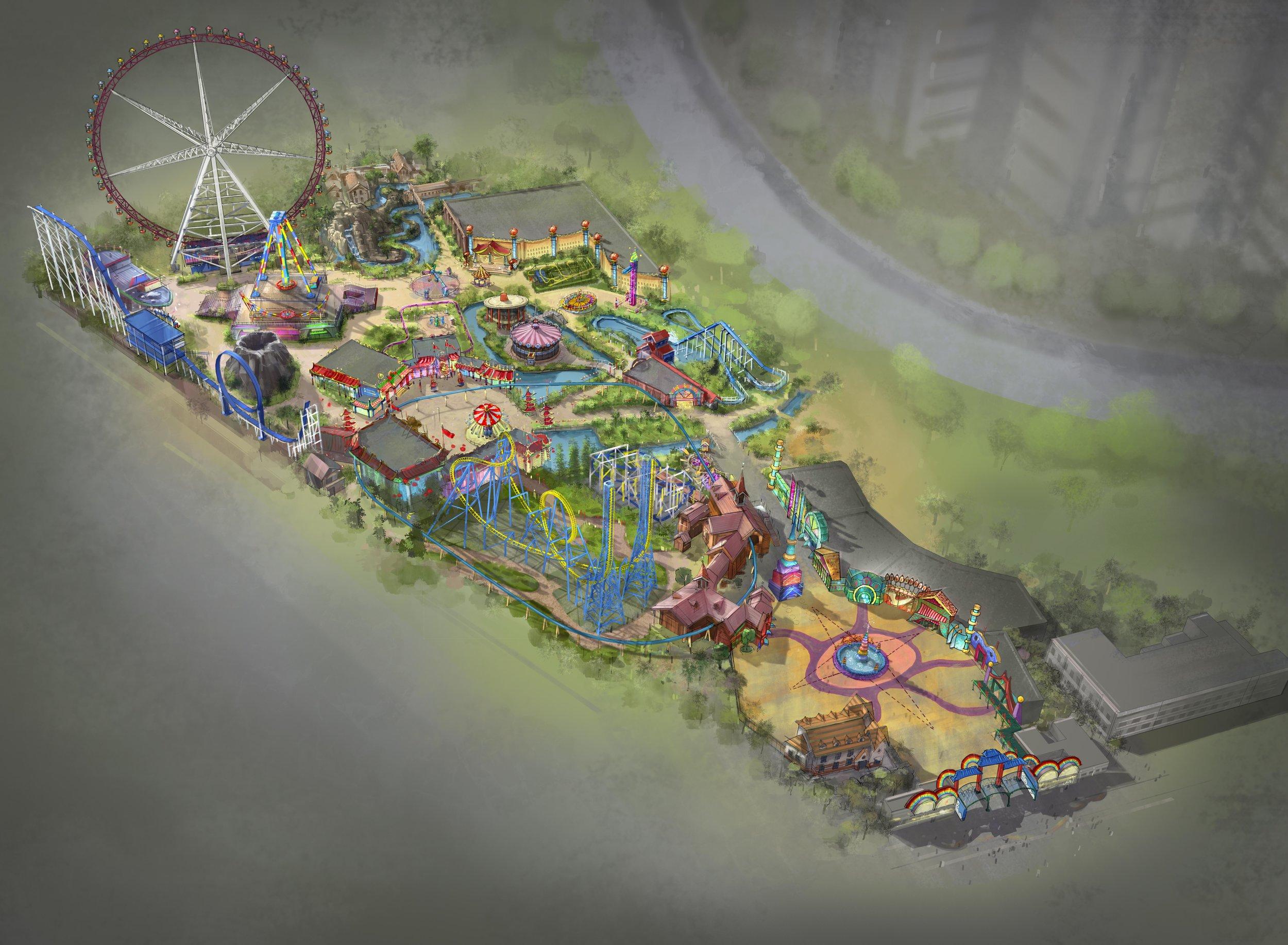JINJIANG THEME PARK <strong>| Redesign of Jinjiang Theme Park</strong>